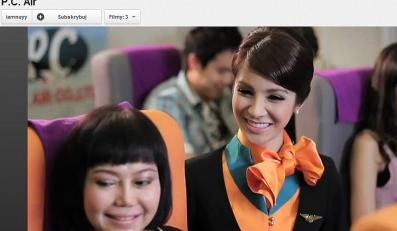 Tiffany - miss transseksualistów w reklamie PC Air
