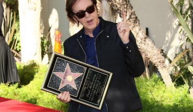 Paul McCartney ma swoją gwiazdę w Hollywood