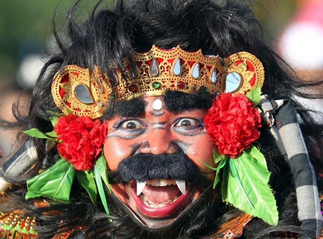 Obchody święta Nyepi, czyli dnia ciszy