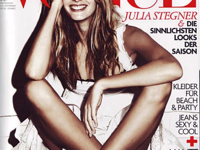 """Niemiecki """"Vogue"""" wybrał 100 najpiękniejszych modelek świata. Na pierwszym miejscu znalazła się Julia Stegner"""