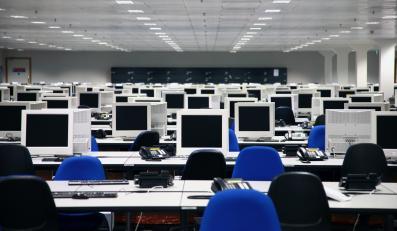 Komputery w biurze