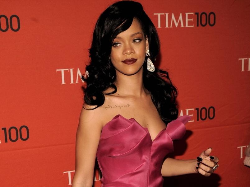 Rihanna na gali magazynu \