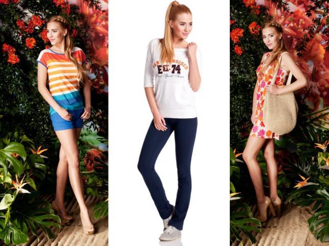 Miss Polonia Marcelina Zawadzka w kampanii promocyjnej kolekcji Moodo lato 2012