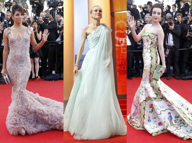 Gwiazdy na gali otwarcia Cannes 2012