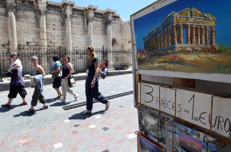 Grecja - zdjęci ilustracyjne