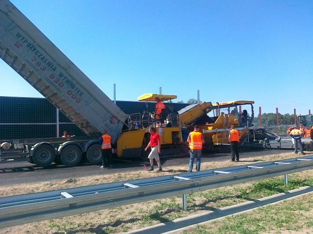 Budowa autostrady A2 - odcinek C