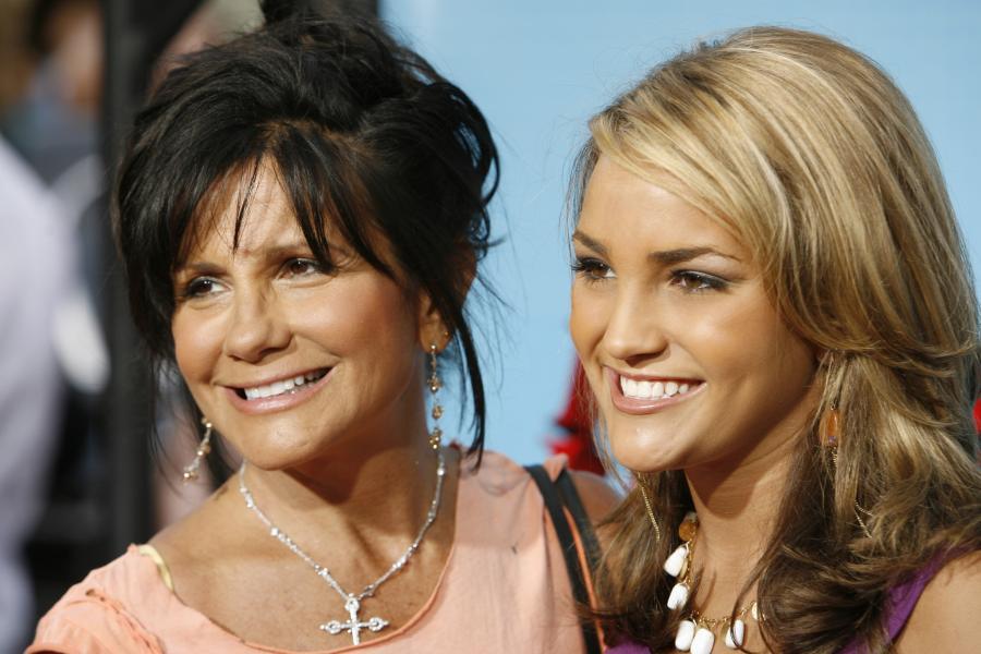 Lynne Spears z młodszą córką Jamie Spears