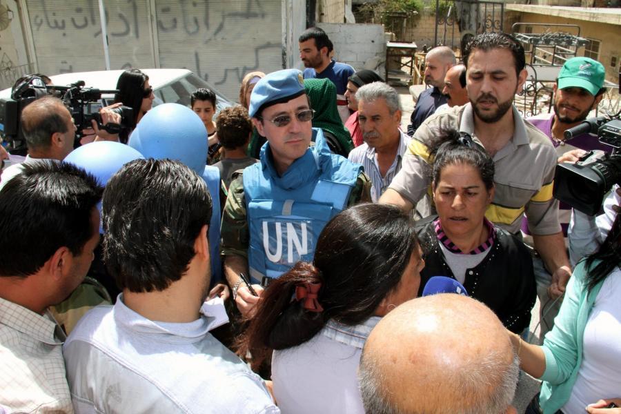 Misja ONZ w Syrii