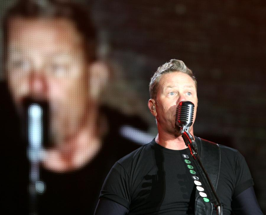 Metallica zagra hymn