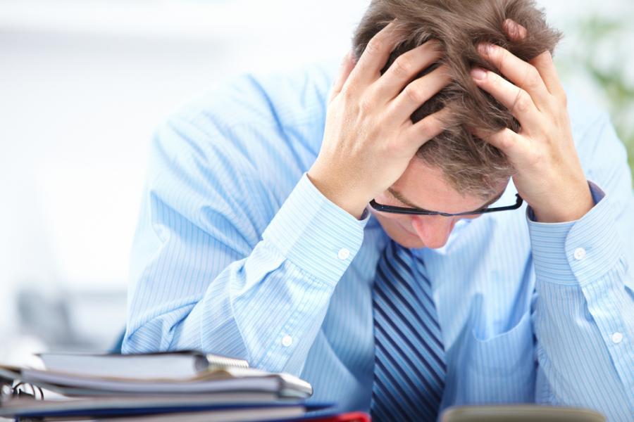 Mężczyzna bez pracy - zdjęcie ilustracyjne