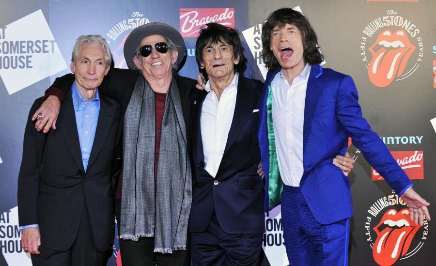 The Rolling Stones świętują 50-lecie i znów razem pracują