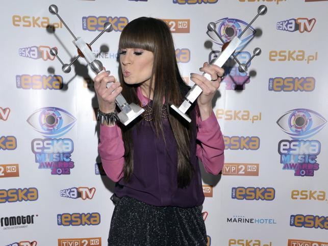 Sylwia Grzeszczak na ESKA Music Awards 2012