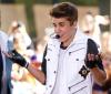 """Justin Bieber podczas występu w """"Today Show"""" –czerwiec 2012"""