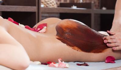 Masaż czekoladowy w salonie SPA