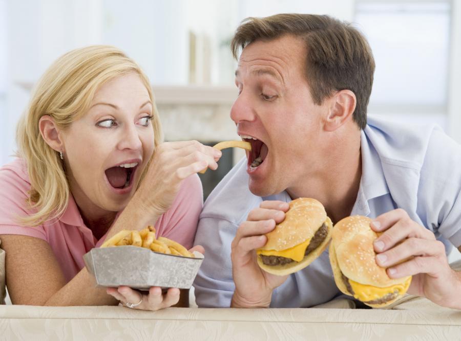 Naśladujemy nawyki żywieniowe partnera