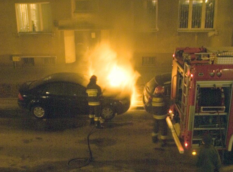 Auto Julii Pitery zostało podpalone