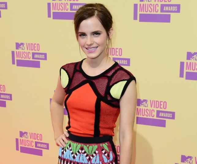 Emma Watson na gali MTV 2012 Video Music Awards – 7 września 2012