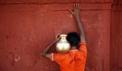 Ganges - święta rzeka wyznawców hinduizmu