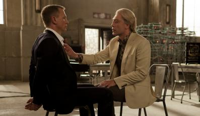 """Javier Bardem i Daniel Craig w """"Skyfall"""""""