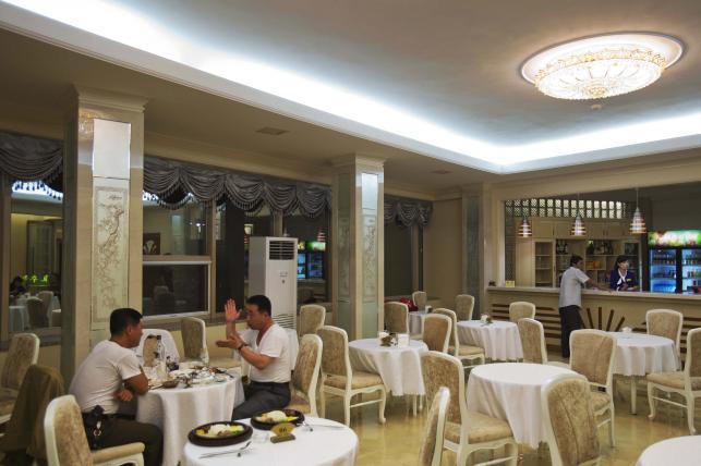 Restauracja w Phenianie