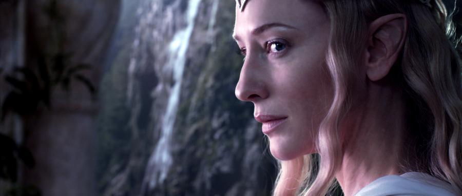 """Cate Blanchett w filmie """"Hobbit"""""""