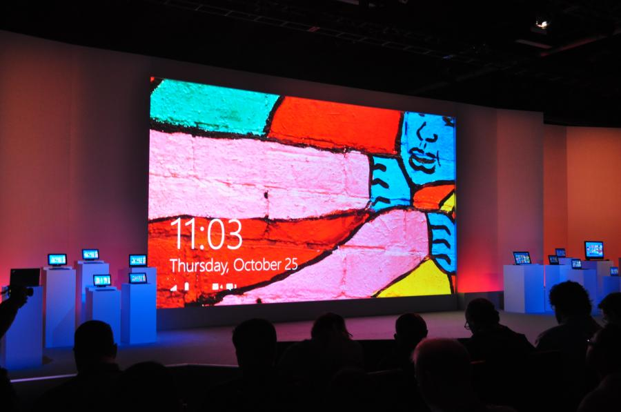 Premiera Windows 8