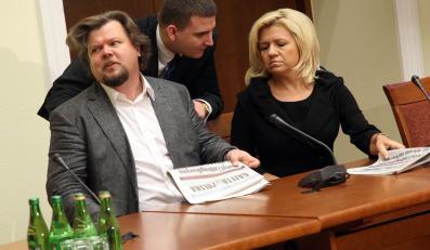Artur Wosztyl i Ewa Błasik