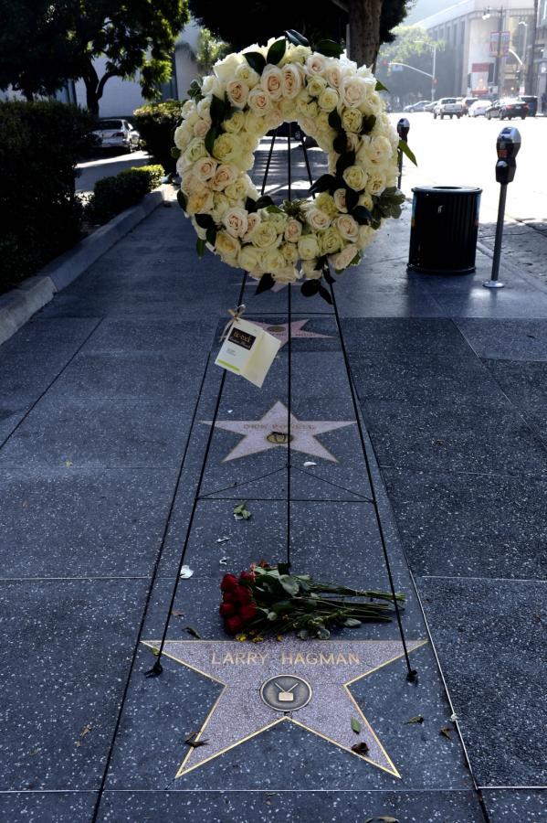 Kwiaty na Walk of Fame