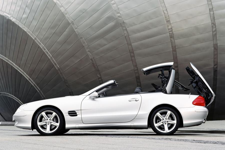 Mercedes SL produkowany od 2002 roku