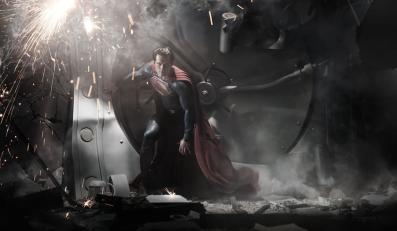 "Henry Cavill jako ""Człowiek ze stali"""
