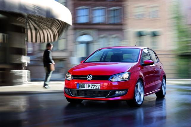 Volkswagen polo - 1. miejsce w kategorii aut 2-3 letnich
