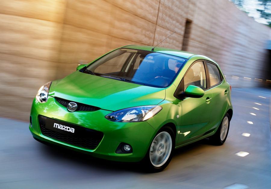 Mazda 2 - 2. miejsce w kategorii aut 4-5 letnich