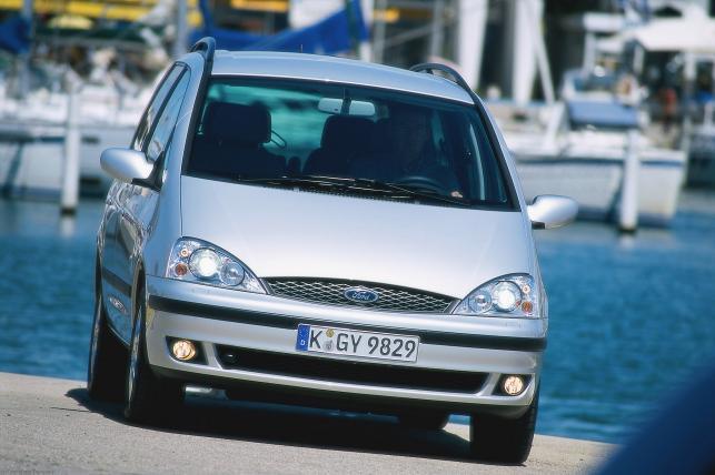 Ford galaxy - 68. miejsce w kategorii aut 10-11 letnich