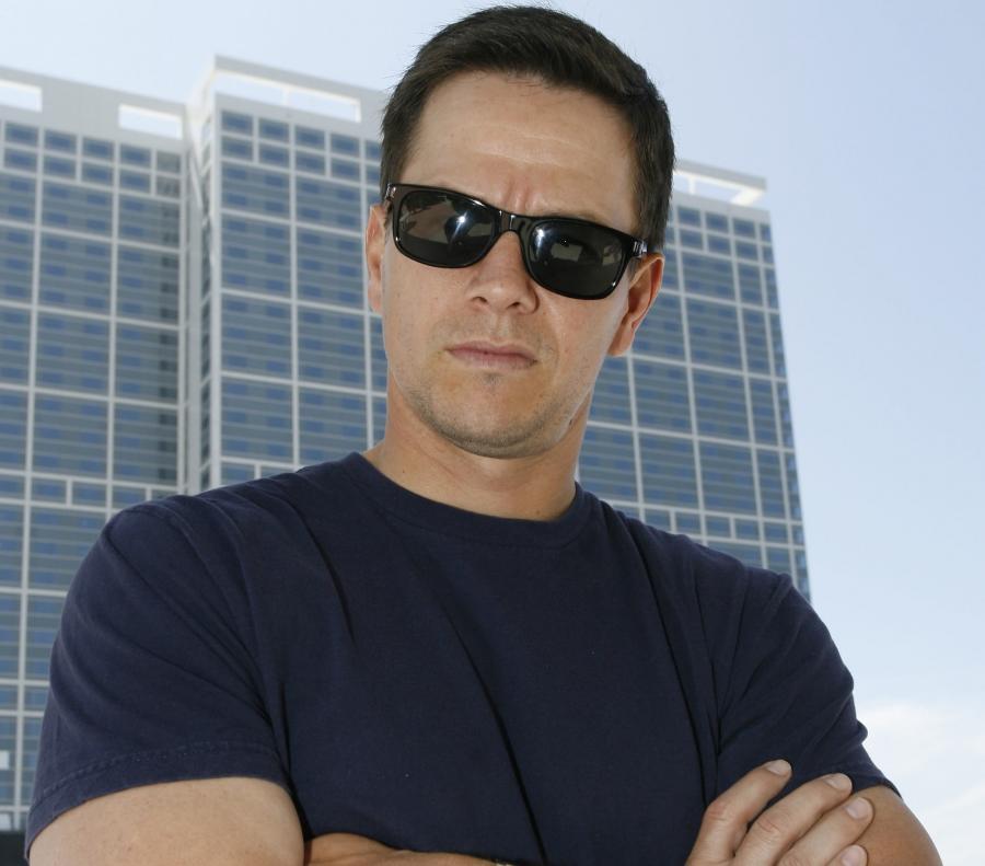 Mark Wahlberg kulturystąz Miami w\