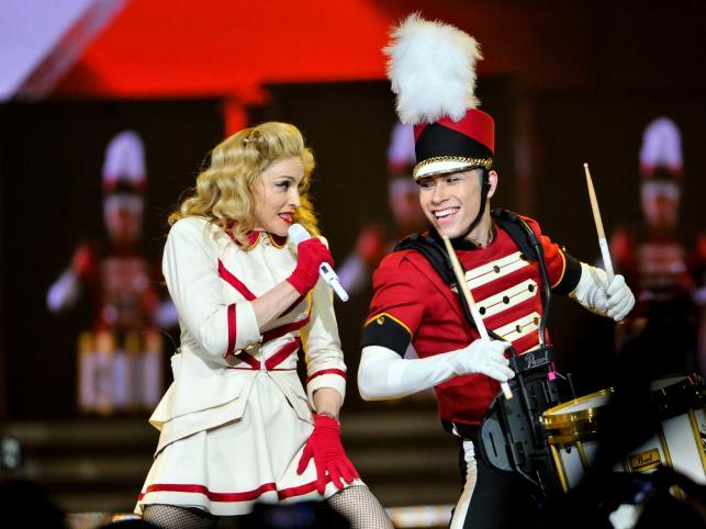 """Madonna na trasie promującej album """"MDNA"""" (2012)"""