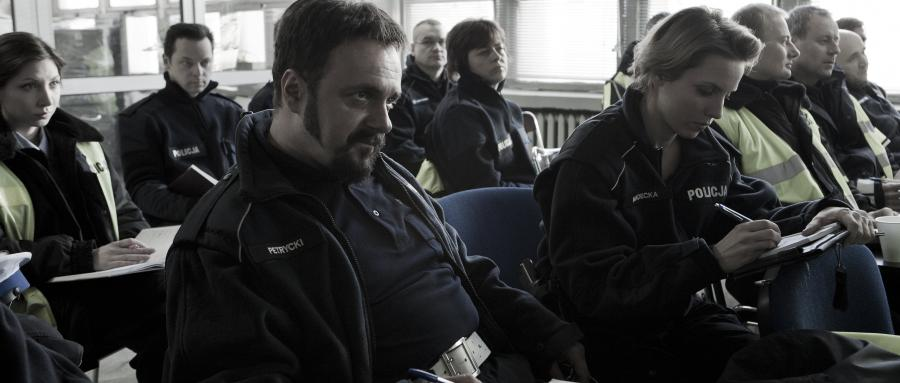 "Arkadiusz Jakubik w filmie ""Drogówka"""