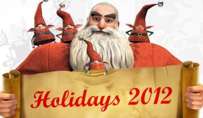 North / Święty Mikołaj i jego elfy