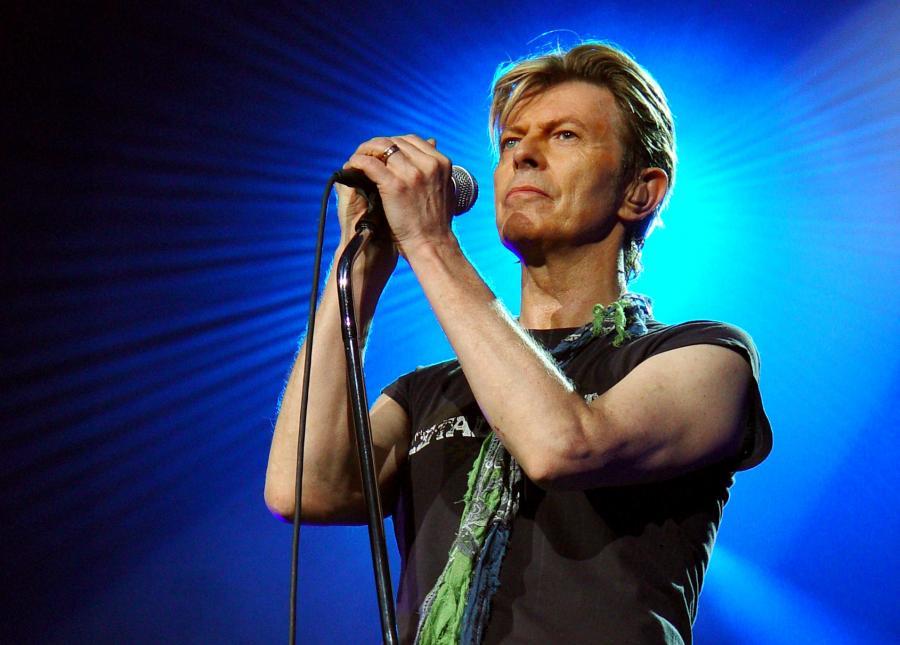 David Bowie prezentuje \
