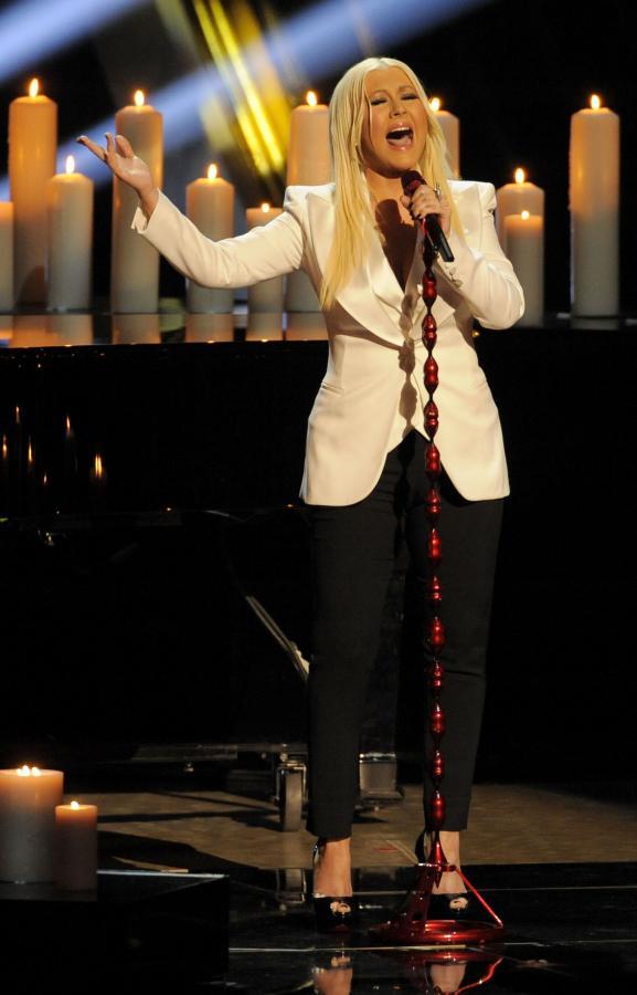 Christina Aguilera zaśpiewała na gali Peoples Choice Awards