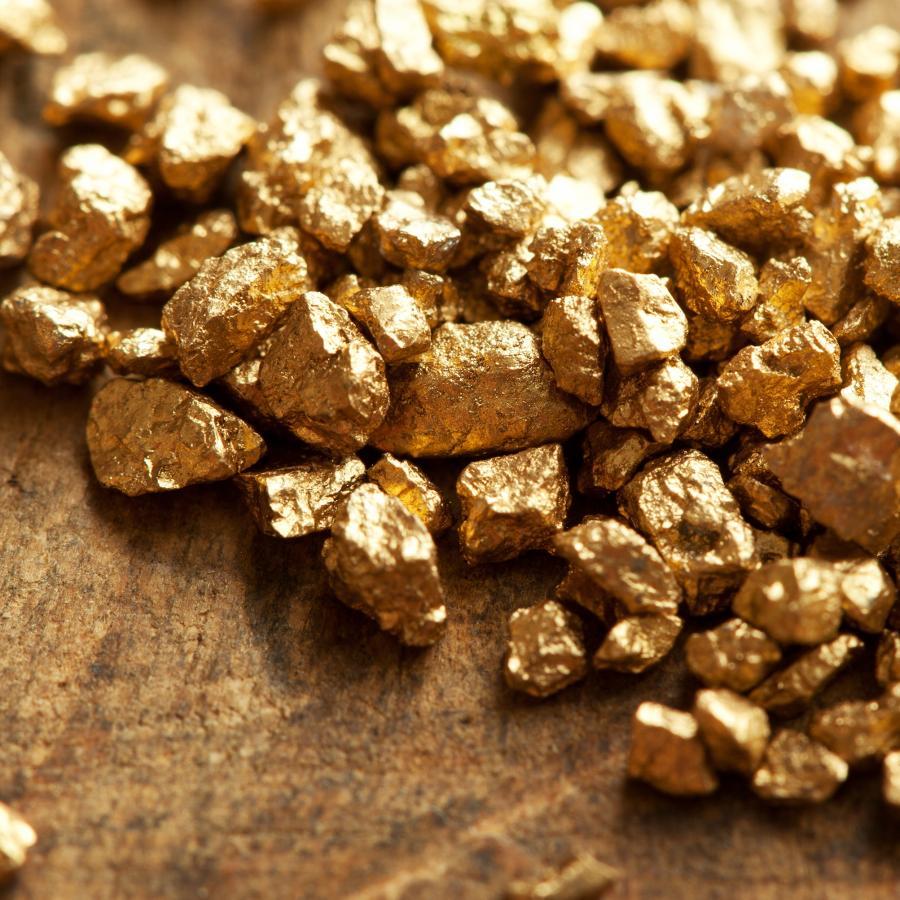 Grudki złota