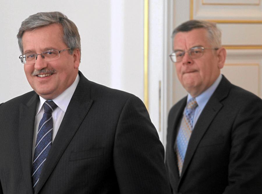 Bronisław Komorowski i Tomasz Nałęcz