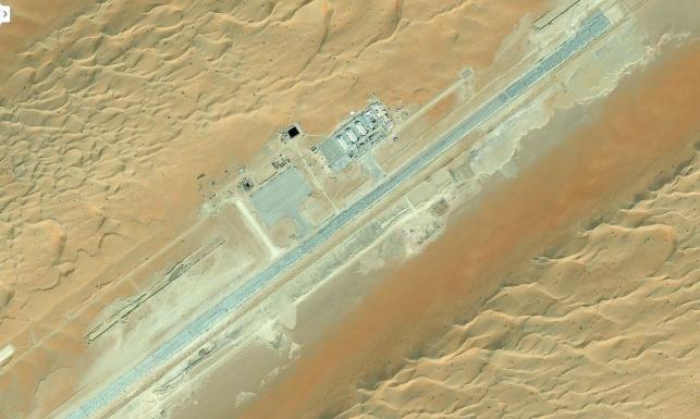 Tajna baza dronów USA w Arabii Saudyjskiej na mapach Bing