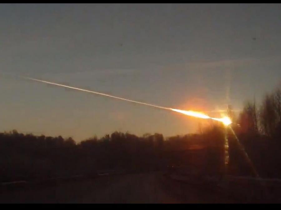 Meteor nad Czelabińskiem