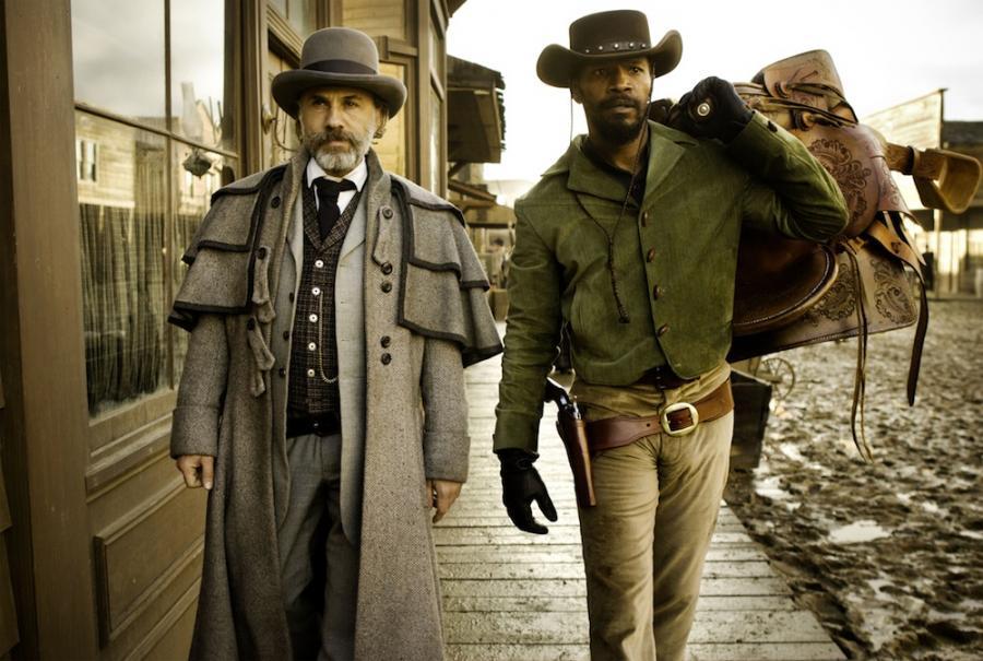 """Christoph Waltz i Jamie Foxx w """"Django"""""""