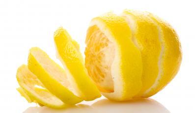 Skórka cytryny bardzo zdrowa