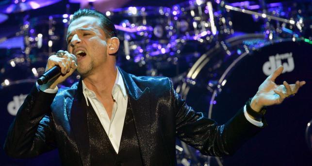 Depeche Mode podczas występu na gali Echo Music Awards w Berlinie –21 marca 2013 roku