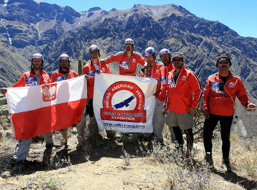 Sukces wyprawy Colca Condor 2008
