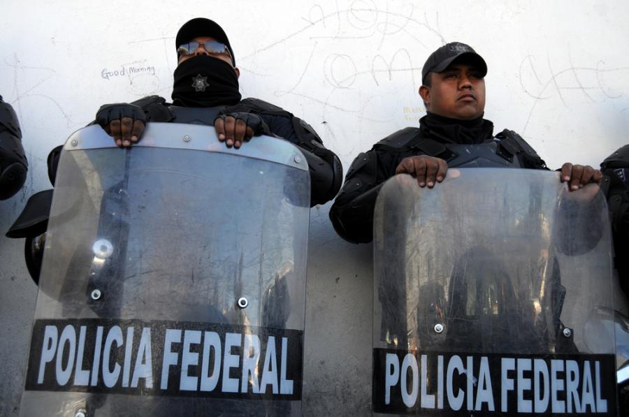 Meksykańscy policjanci