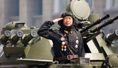 Czołgista z Korei Północnej