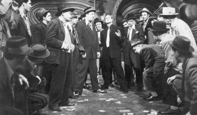"Frank Sinatra i Marlon Brando w filmie ""Faceci i laleczki"""